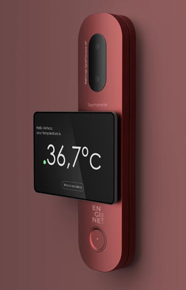 Thermometer red