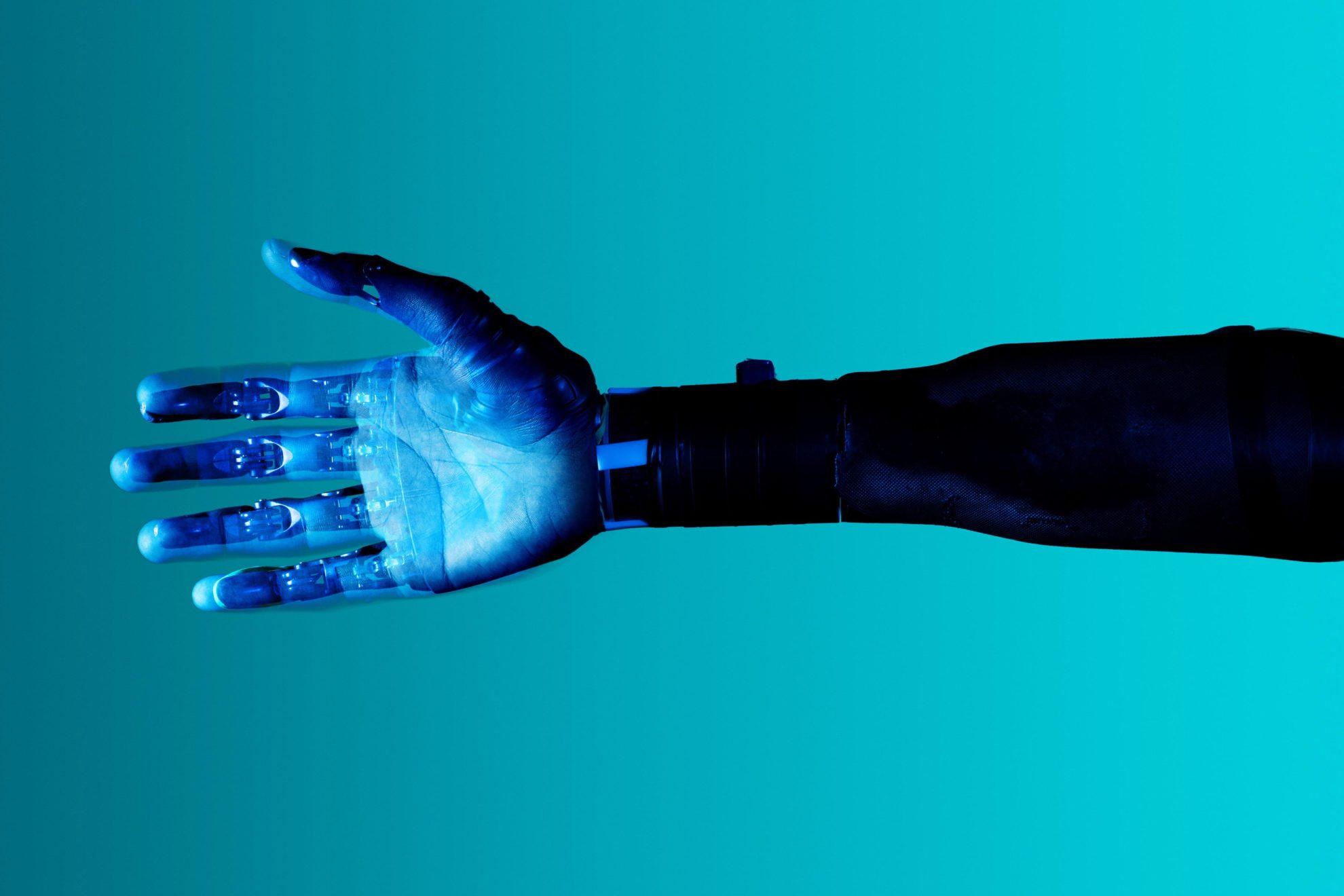 mechanical hand robot