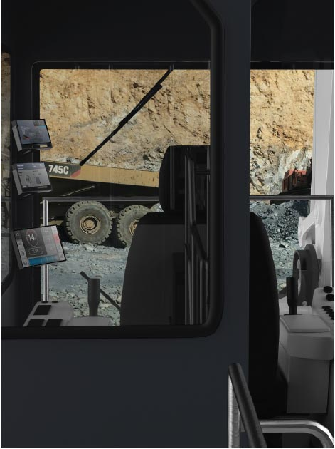 screens on agriculture trucks