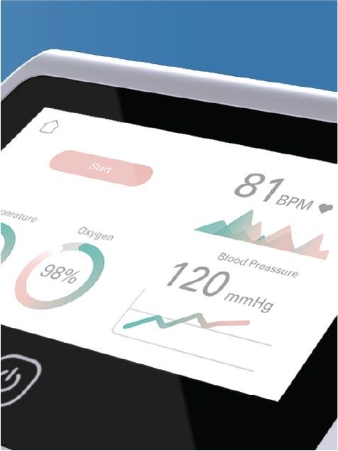 Patient diagnostics monitoring dashboard
